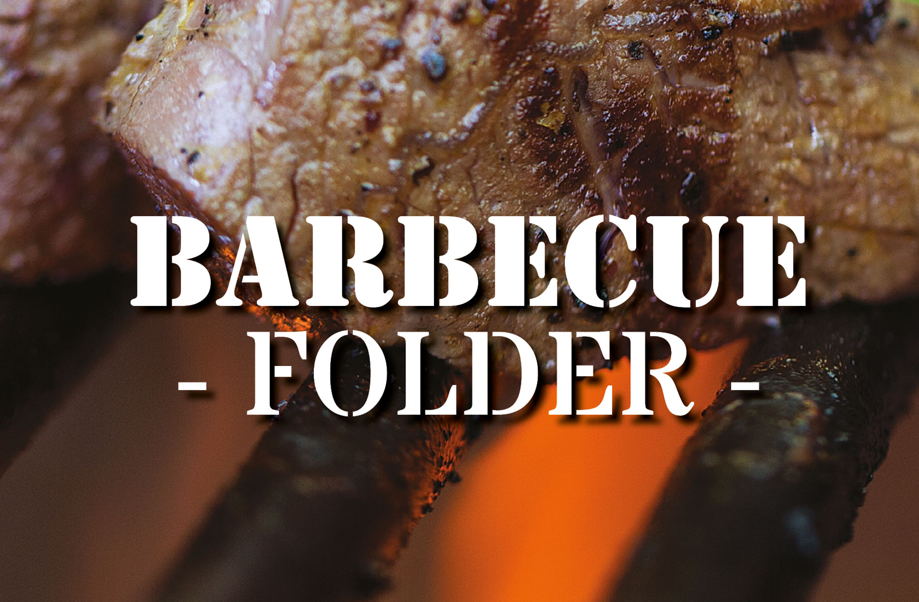 bbq-folder traiteur vandermeulen
